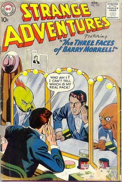 Strange Adventures (1950) issue 102 - Page 1