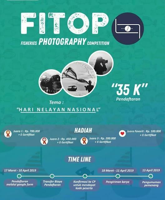 Lomba Fotografi Nasional FITOP 2019 Pelajar & Mahasiswa Terbaru