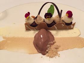 dessert at jesmond dene house