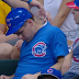 Cubs fans wake up sleeping friend with ice (Video)