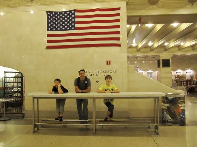 Grand Central terminal station NY, estacion tren Nueva York