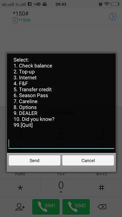 transfer kredit langkah 1