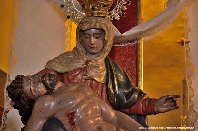 Nuestra Señora de las Angustias. Foto G. Márquez
