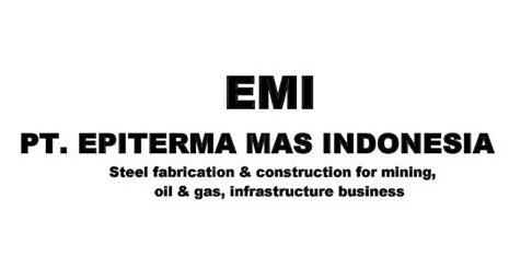 Lowongan Kerja Cikarang Via Email PT. Epiterma Mas Indonesia
