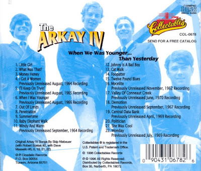 The Arkay IV - When We Was Younger... Than Yesterday