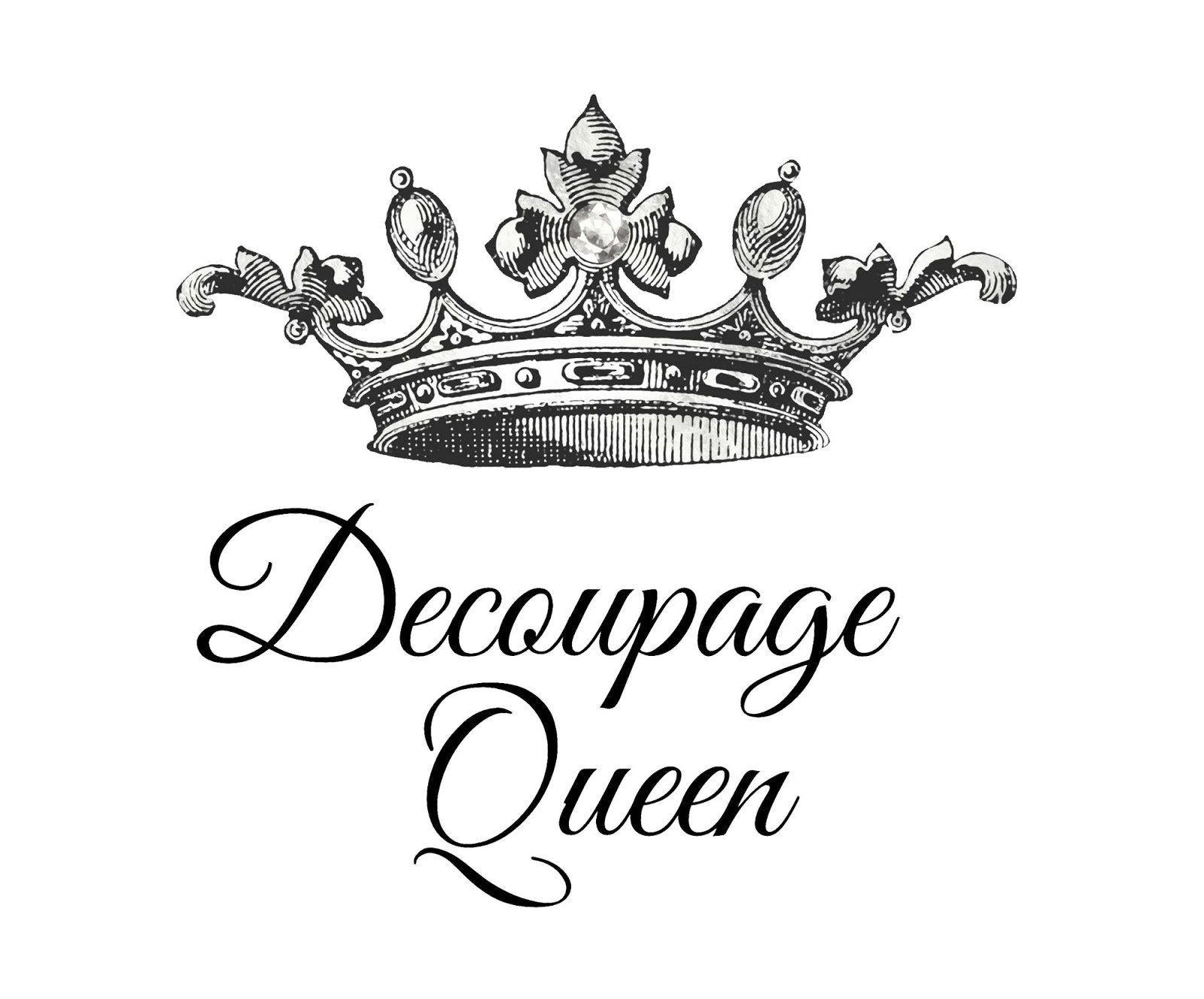 Decoupage Queen