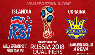 Prediksi Islandia vs Ukraina 6 September 2017