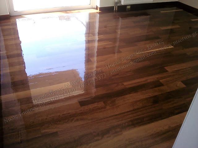 Φρεσκάρισμα ξύλινου δαπέδου