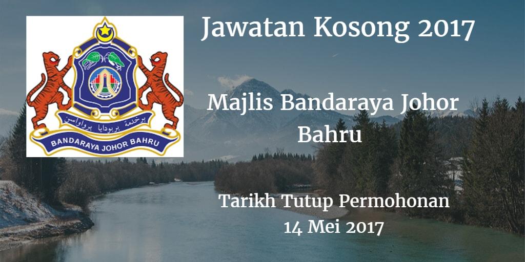 Jawatan Kosong MBJB 14 Mei 2017