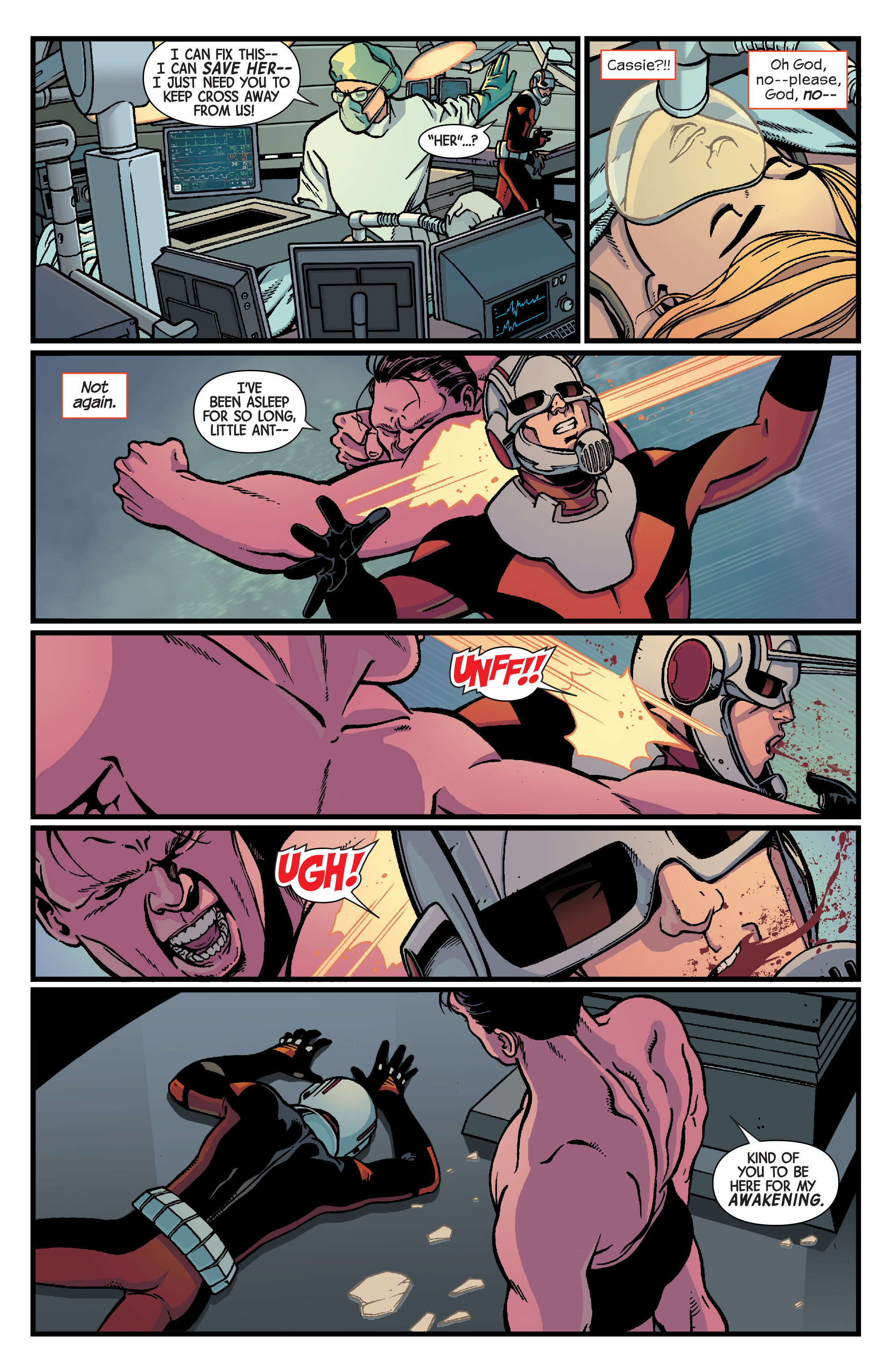 Read online Ant-Man comic -  Issue #5 - 5
