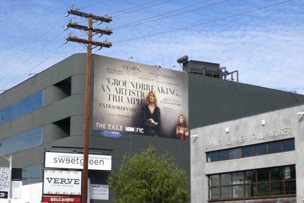 Tale film HBO FYC billboard