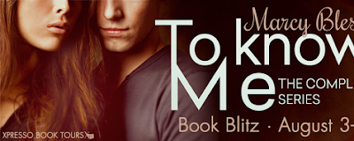 Blitz and Giveaway: To Know Me by Marcy Blesy