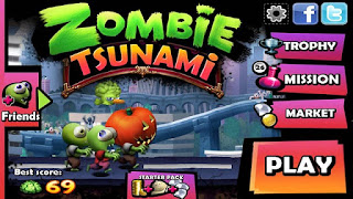 Zombie Tsunami Apk Mod v3.8.7 Unlimited Coin Android