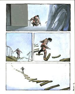 Edmond Baudoin, Les Essuie-Glace, copyright Baudoin, Dupuis