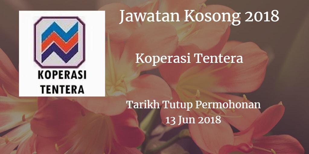 Jawatan Kosong Koperasi Tentera 13 Jun 2018