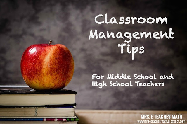 Classroom Management Tips for Middle School and High School Teachers