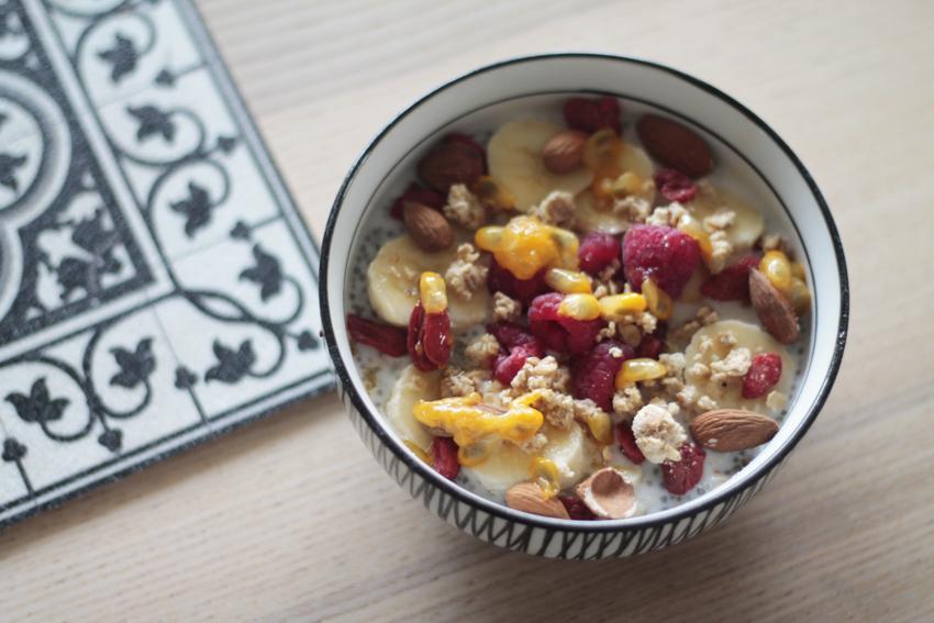chia bowl vegan recette