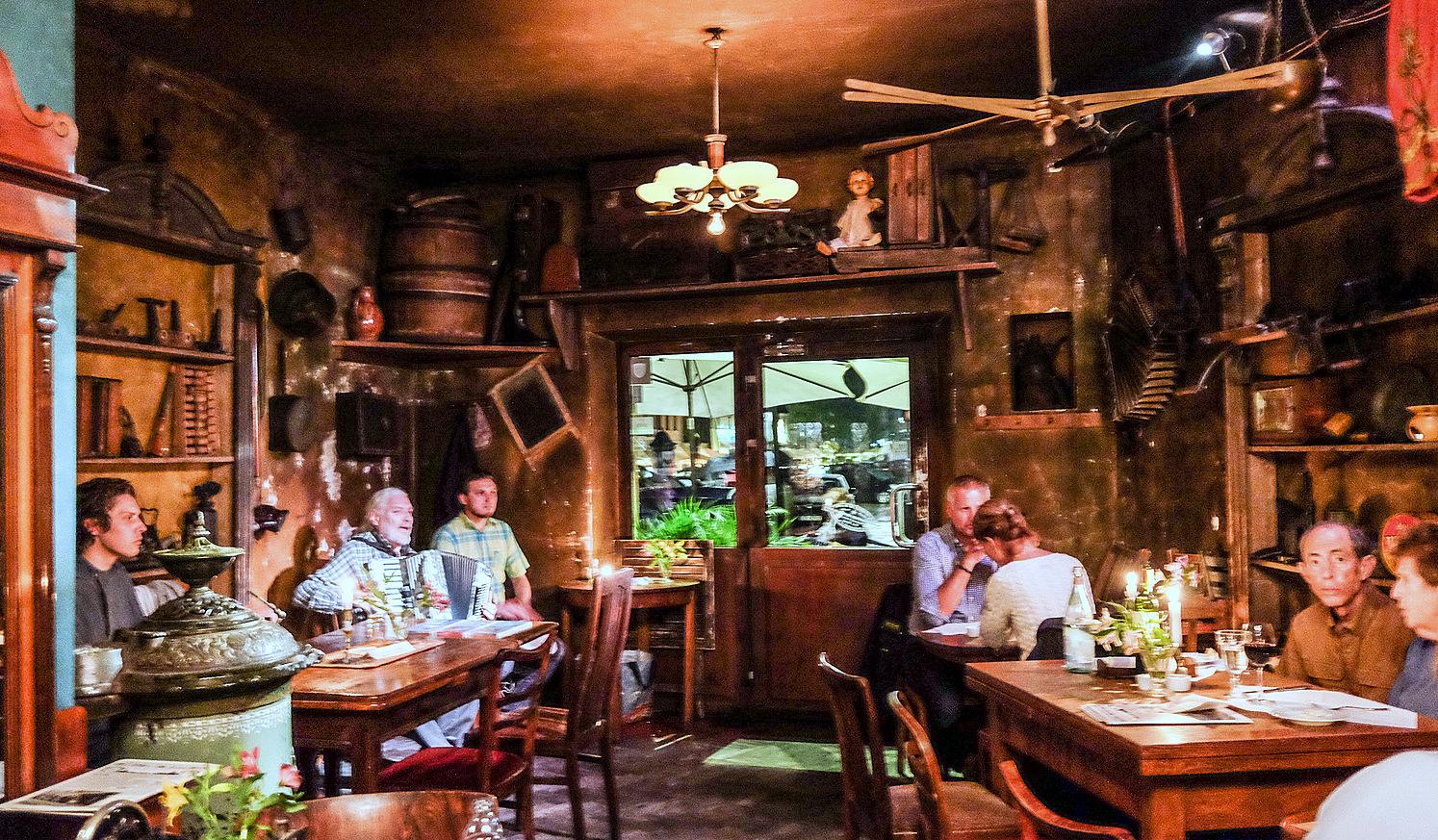 Dawno Temu Na Kazimierzu Jewish Restaurant @ Krakow, Poland