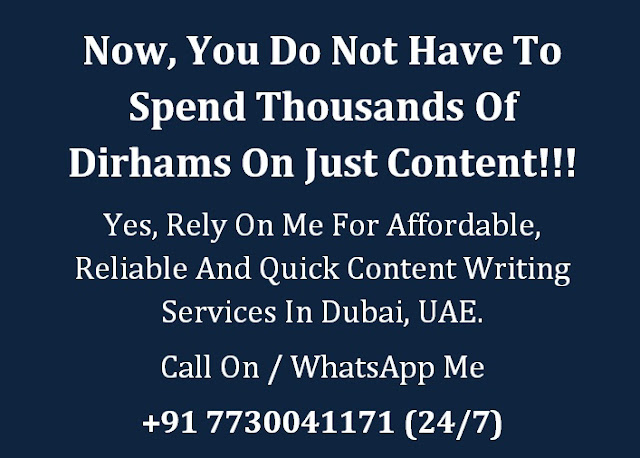 Content Writing Companies Dubai