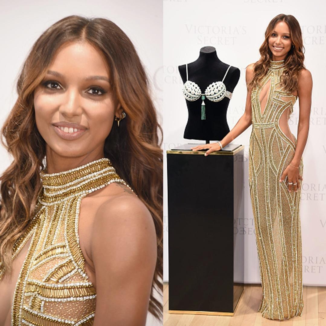 Jasmine Tookes Chosen to Wear Victoria\'s Secret Fantasy Bra at ...