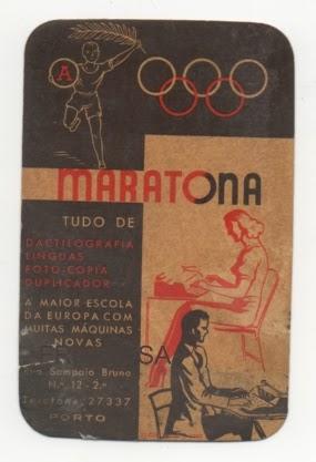 Calendario 1950.O Passado Mora Aqui A Maratona Calendario 1950