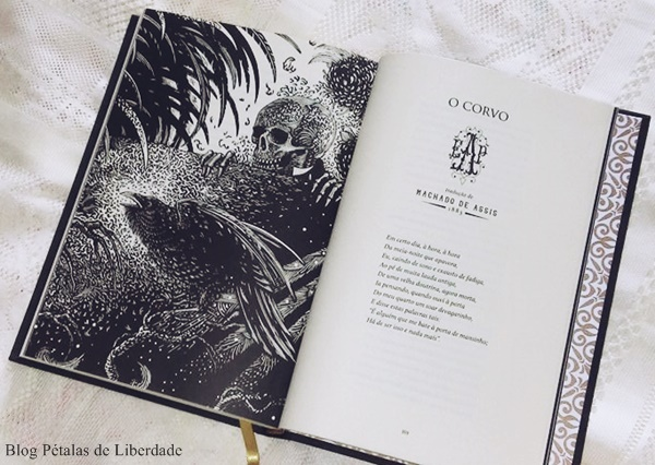O-Corvo, Edgar-Allan-Poe, darkside, ilustração