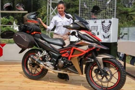 Modifikasi Motor Honda Supra Gtr 150 Rasa Offroad Berita Otomotif
