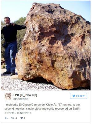 «Ταξιδιώτης» από τα άστρα, ηλικίας 4.000 ετών, ανακαλύφθηκε σε ανασκαφή στην Αργεντινή