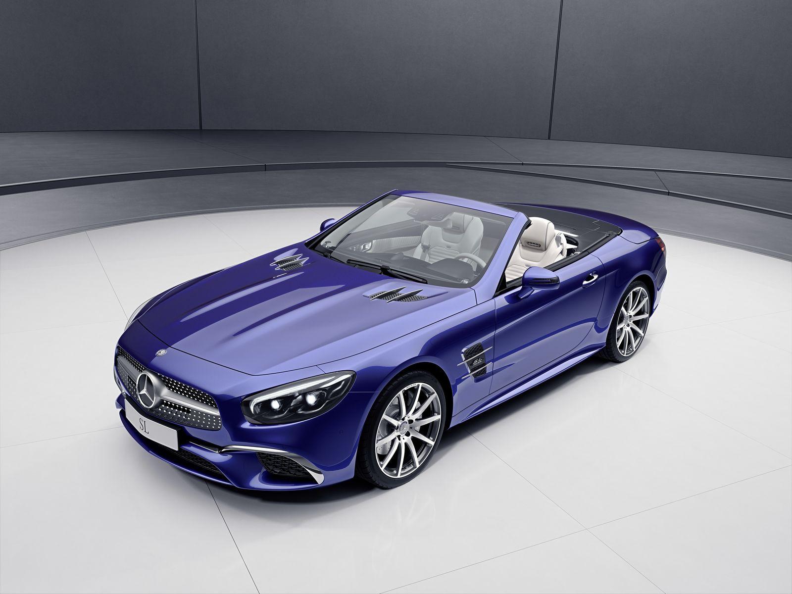 Mercedes-Benz SL And SLC Get Special Designo And RedArt