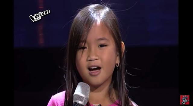 Cute kid Kate Campo wows Coach Bamboo on 'The Voice'