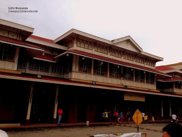 Façade of Tutuban Center Mall, a former train station