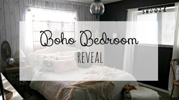 Boho Bedroom Reveal Little Vintage Cottage