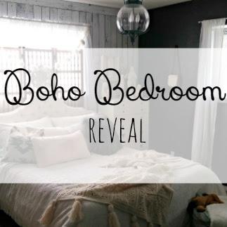 Boho Bedroom Reveal