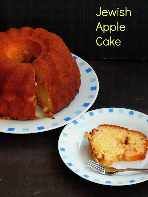 Jewish apple xmas cake, Apple Cake