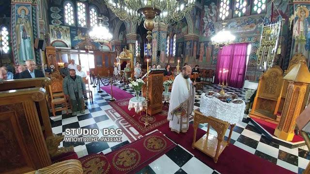 Γιόρτασαν τον προστάτη τους Άγιο Φωκά οι απόστρατοι του Λιμενικού Σώματος Αργολίδας