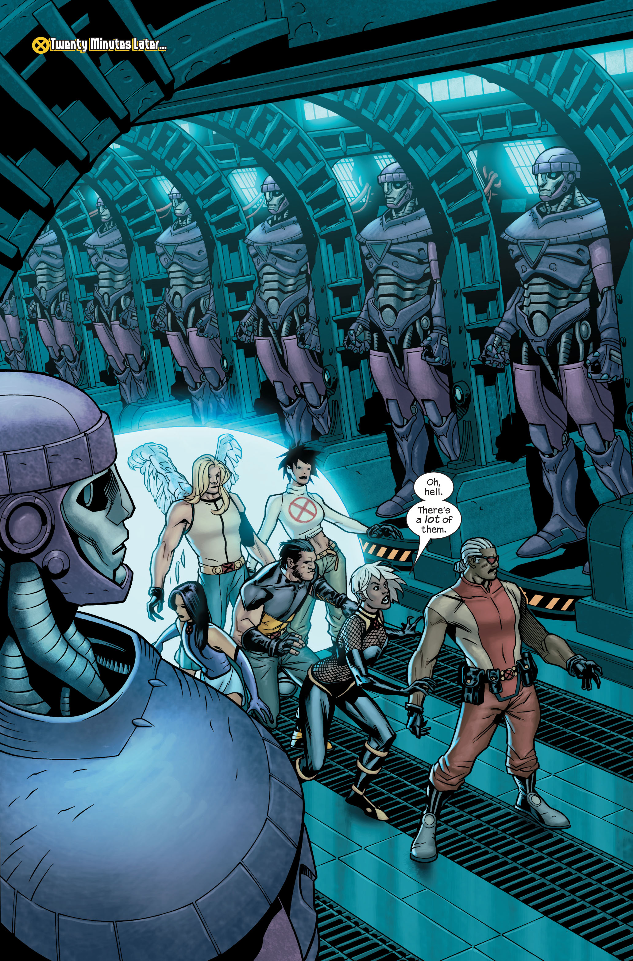 Read online Ultimate X-Men comic -  Issue #85 - 20