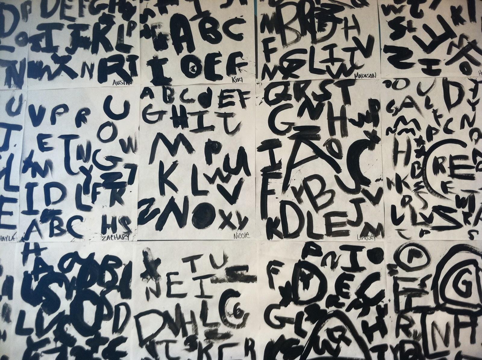 Olive Art Do You Alphabet Painting