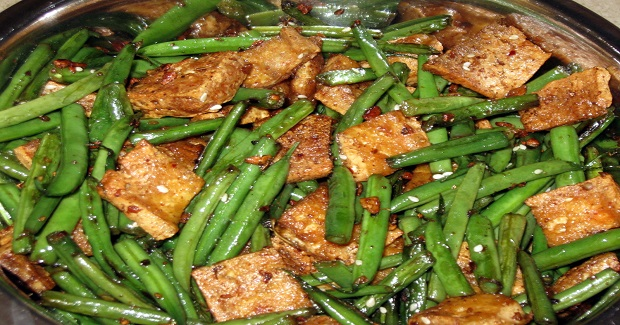 French Beans And Tofu Stir Fry Recipe