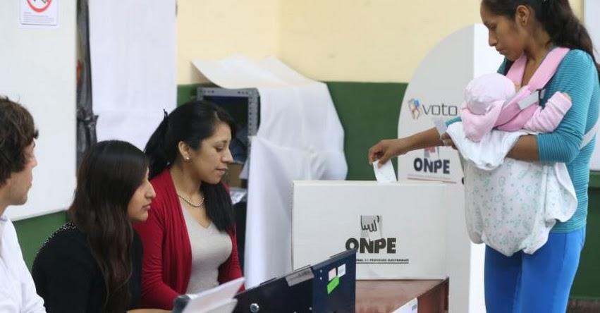 ELECCIONES 2018: En qué casos se puede pedir una dispensa o justificación - ONPE - www.onpe.gob.pe