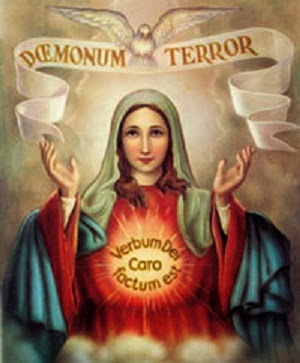 DŒMONUM TERROR - The surprising day when the devil himself praised Mary's Immaculate Conception