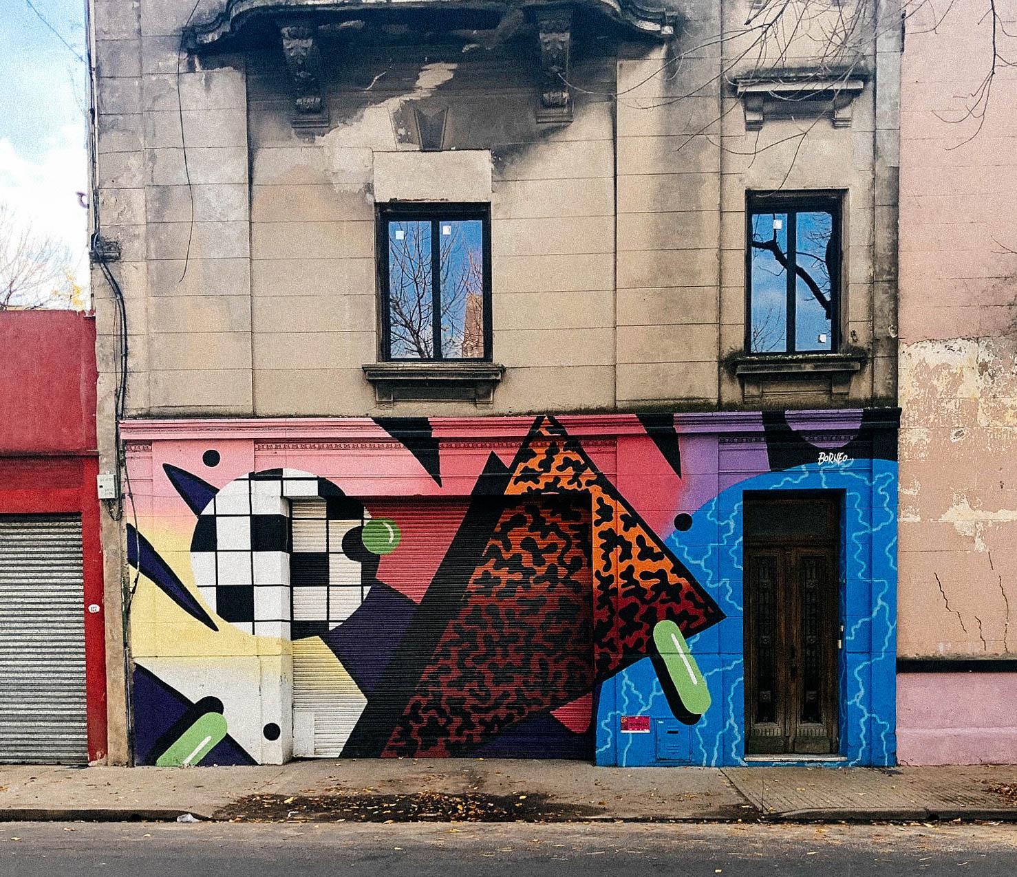 Graffiti Y Street Art En Buenos Aires Mapa Guia 2018 Agus Yornet