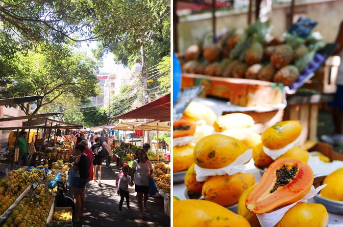 Brazil with kids - Lapa markt