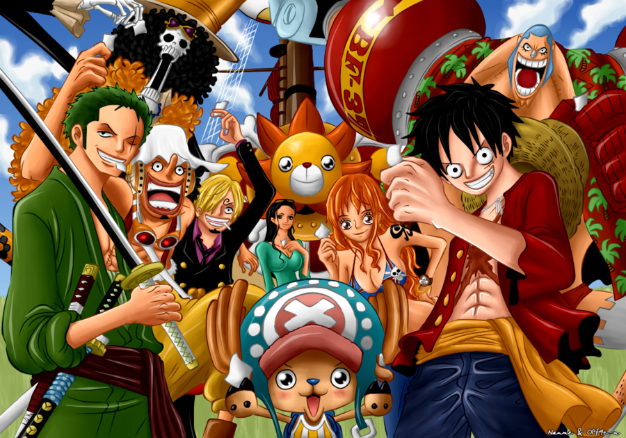 one piece desktop wallpaper luffy