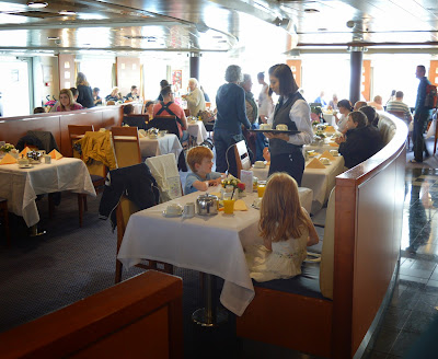 7 Seas restaurant DFDS Seaways
