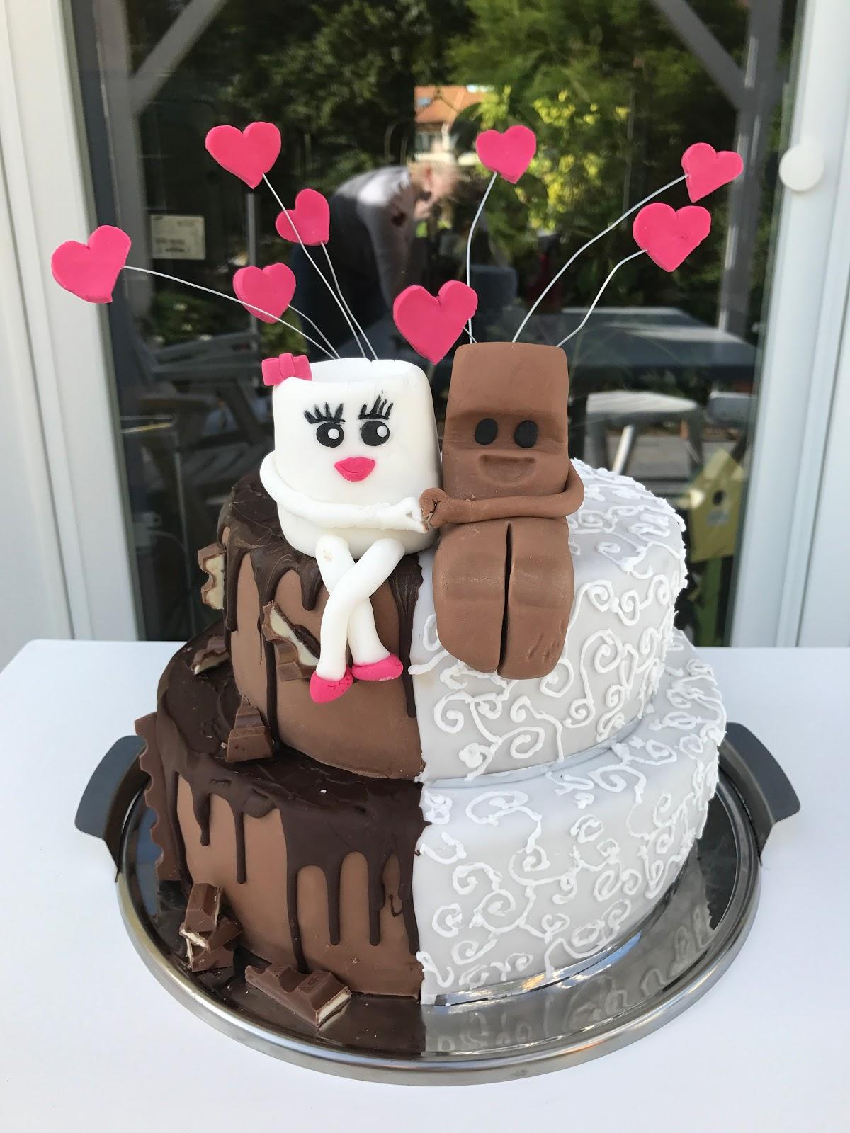 Kinder Riegel Hochzeitstorte