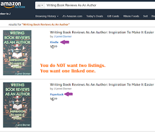 Jewel Box of #WriteTips for the #atozchallenge and #wep Amazon double listing problem
