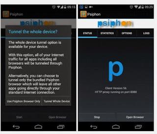 Cara Internet Gratis Di Android Mengunakan Psiphon Terbaru 2018
