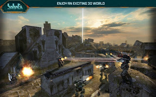 Walking War Robots Apk Mod Unlimited money
