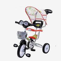 family f919ht nikel capung bmx sepeda roda tiga