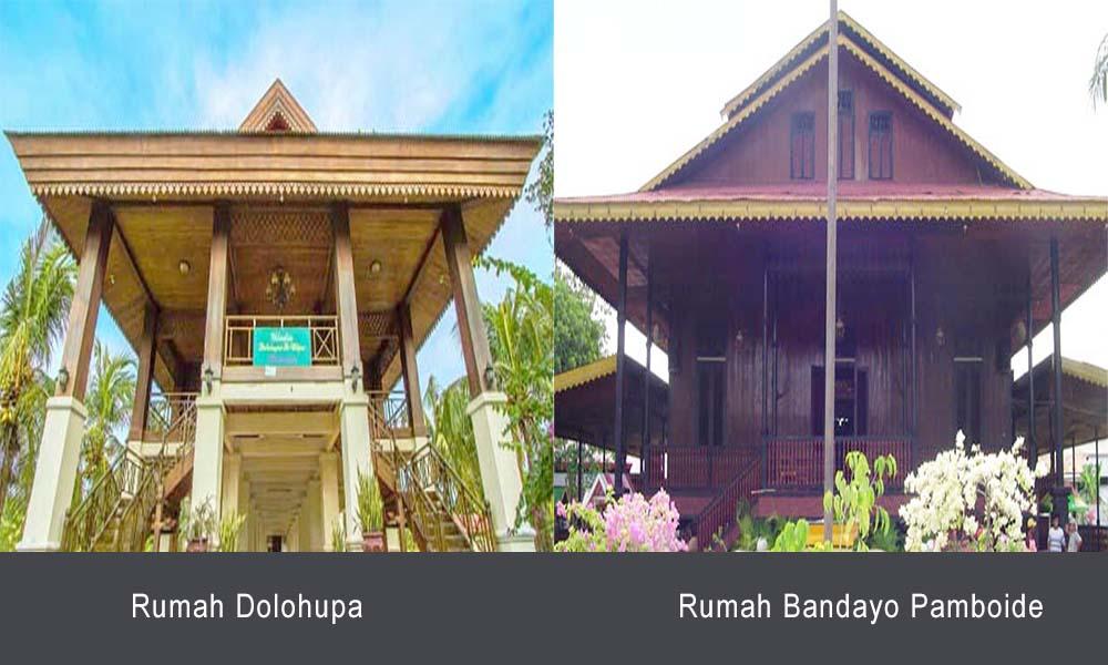 Rumah Dolohupa dan Bandayo Pomboide, Rumah Adat Gorontalo